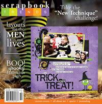 Scrapbook trends oct