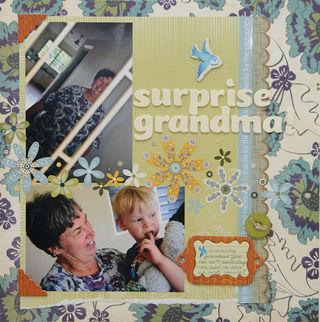 Surprise grandma