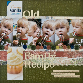 Old family receipe