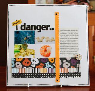 Beware danger (1 of 3)