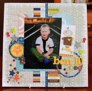 Ben 10 boy (1 of 4)