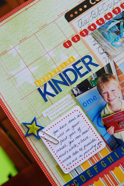 Graduating kinder (2 of 3)