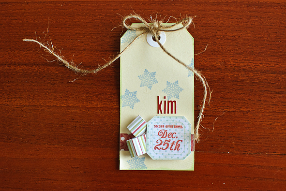 Christmas gift tags - stamping (3 of 3)