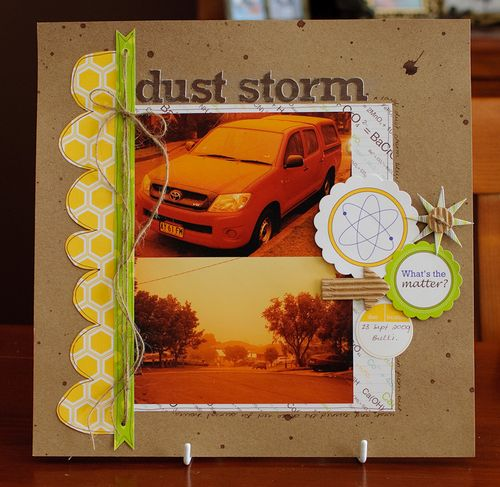 Dust storm (1 of 2)