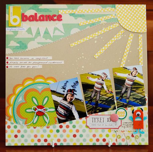 B is for balance (1 of 5)