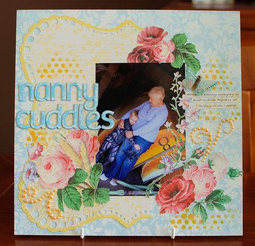 Nanny cuddles (1 of 5)